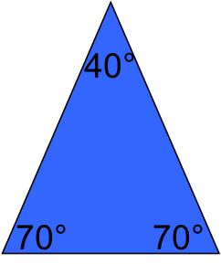 define isosceles triangle - photo #12